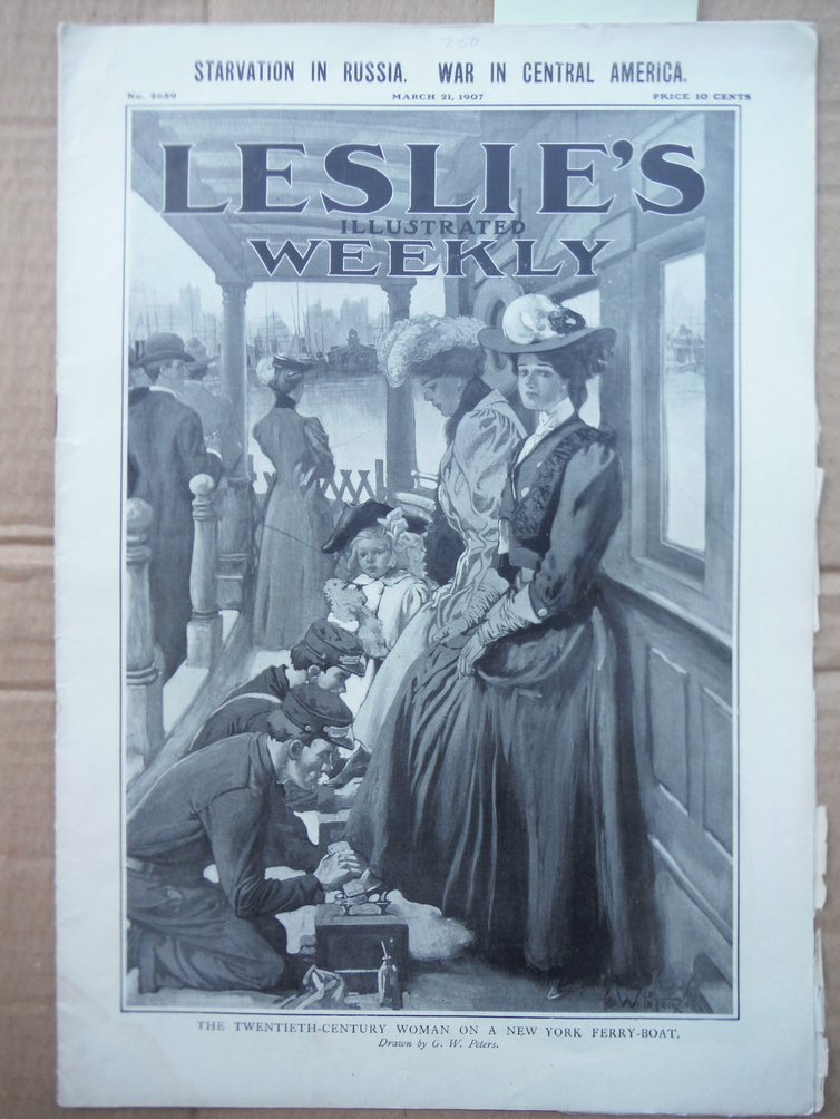 Image 0 of Leslie's Illustrated Weekly N o. 2659 (March 21, 1907)