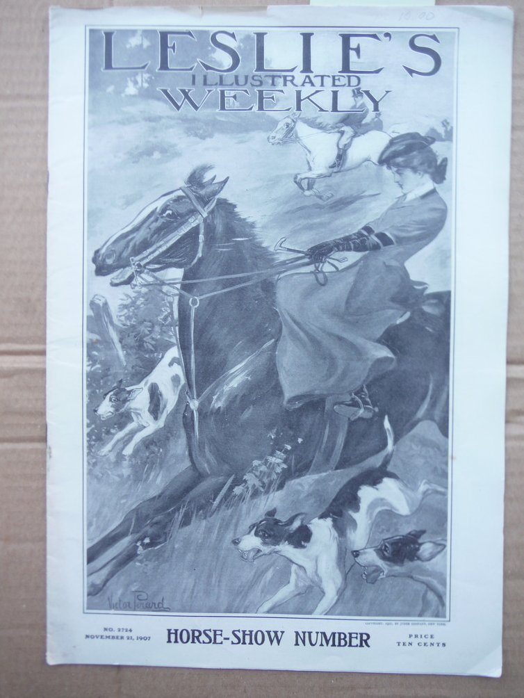 Image 0 of Leslie's Illustrated Weekly. No. 2724 (November 21, 1907)