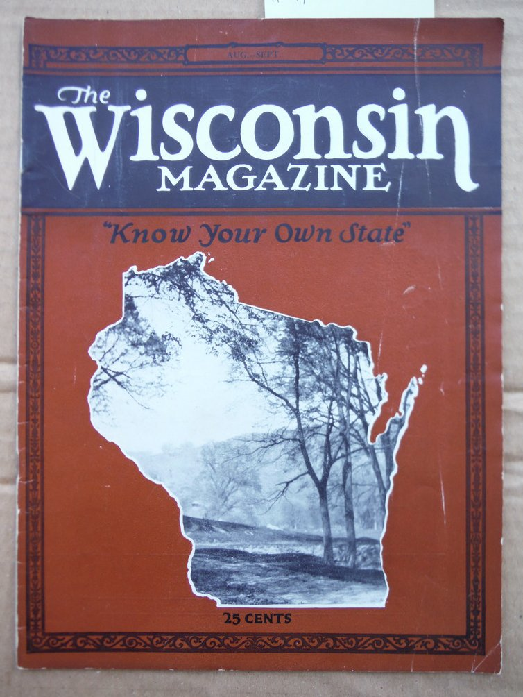 Image 0 of The Wisconsin Magazine Vol. II  No. 7 (August-September, 1924)