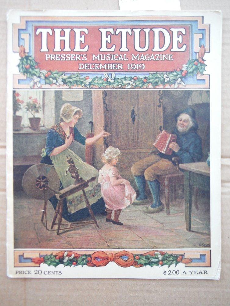 Image 0 of The Etude: Presser's Musical Magazine, Dec. 1919