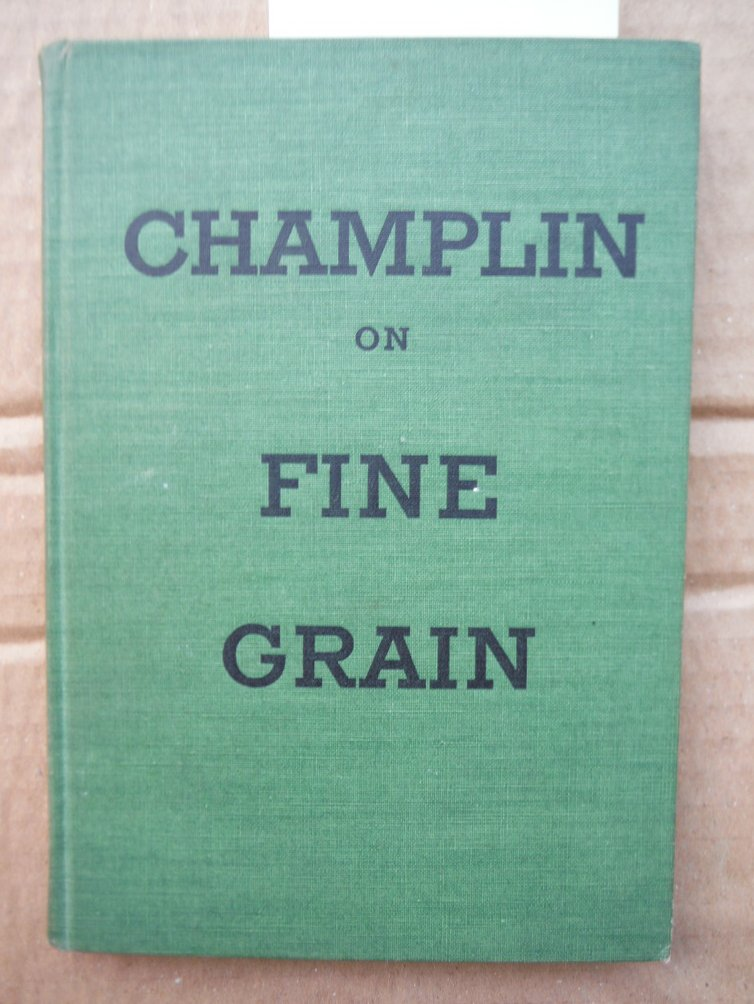 Champlin on Fine Grain