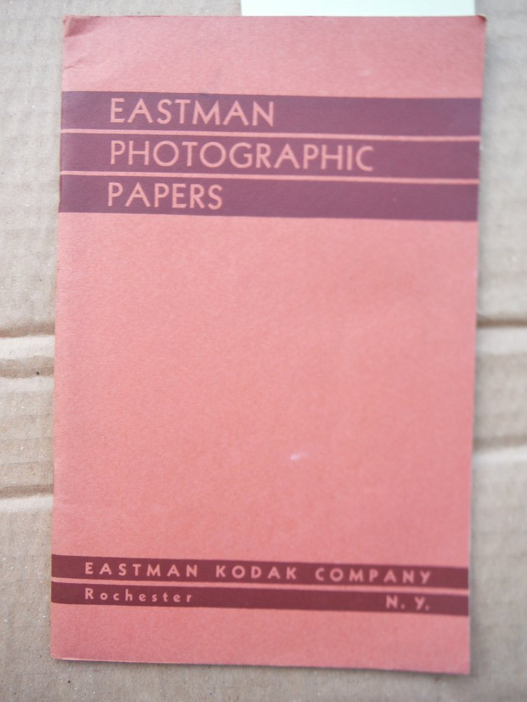 Image 0 of Eastman Photographic Papers