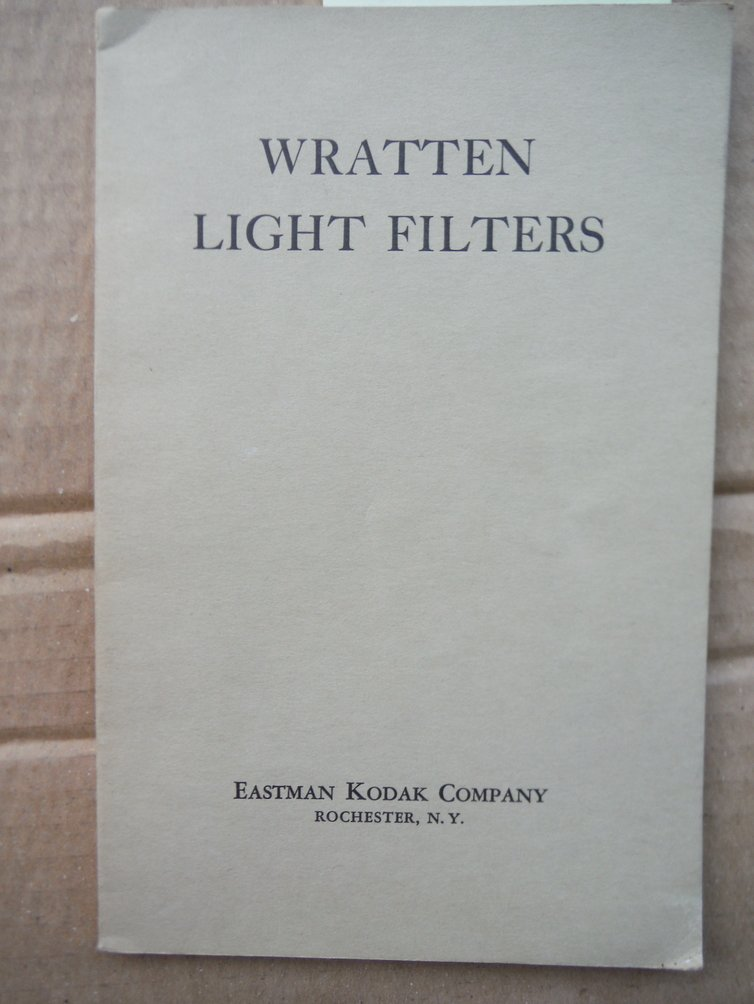 Image 0 of Wratten Light Filters (15th Ed)