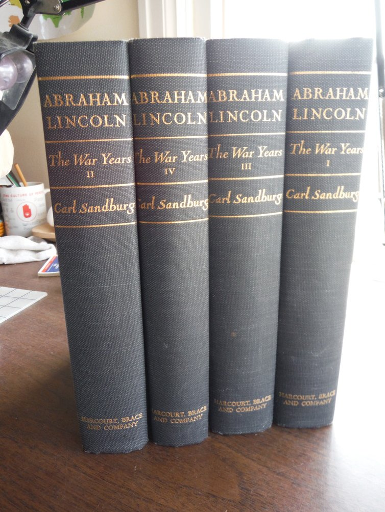 Abraham Lincoln: The War Years: Volumes I-IV