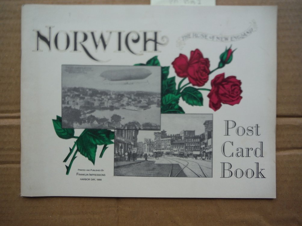 Norwich The Rose of New England Post Card Book