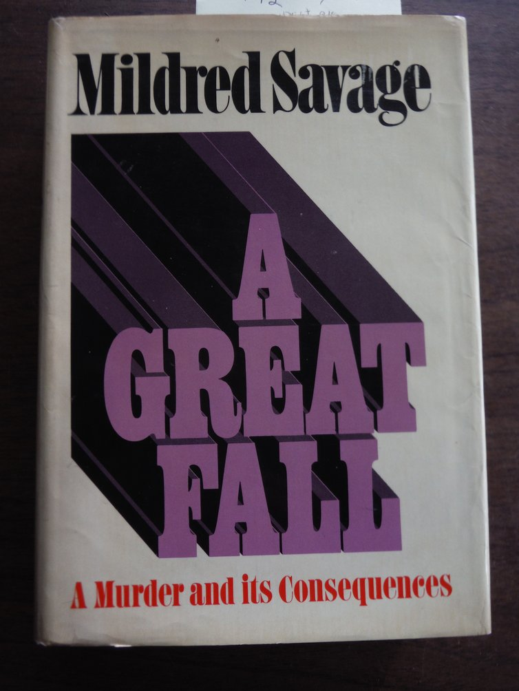 A Great Fall (Signed)