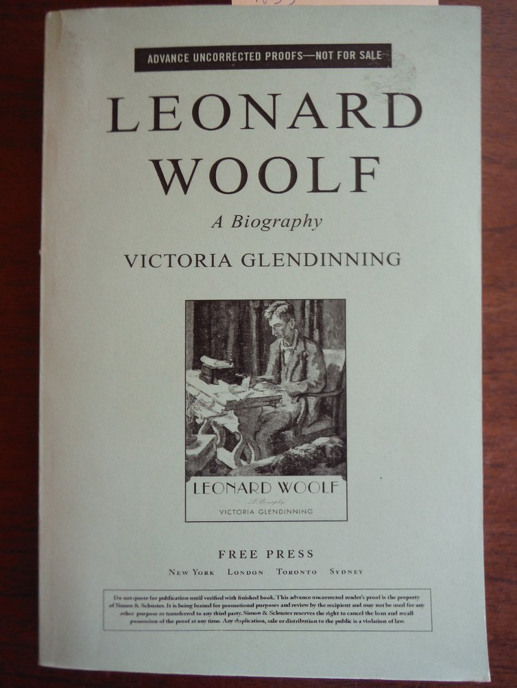 Leonard Woolf A Biography
