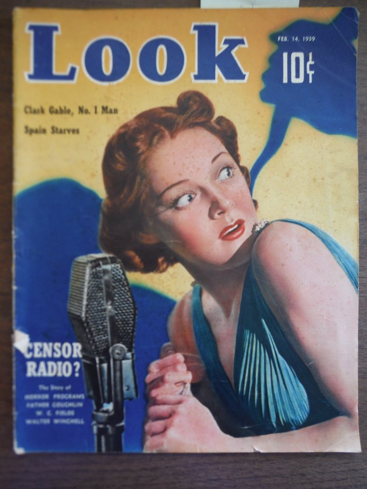 Image 0 of Look Magazine, Feb. 14, 1939 Vol. 3, No. 4