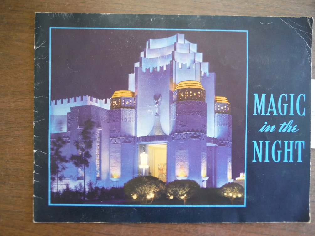 MAGIC In The NIGHT. Official Souvenir. Golden Gate International Exposition.