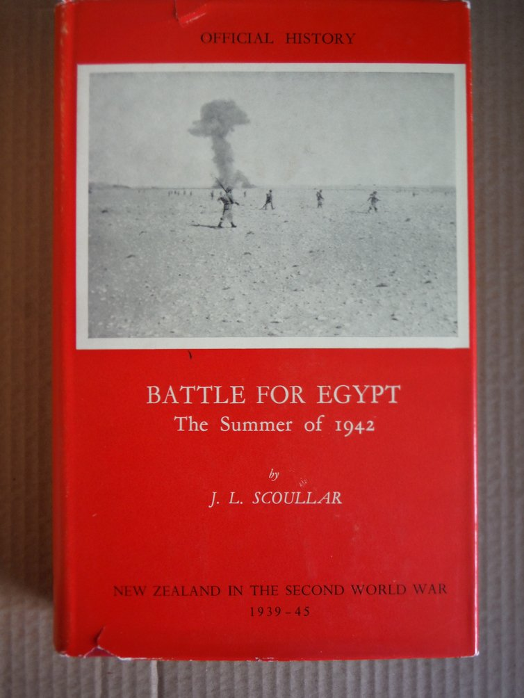 Battle for Egypt, the summer of 1942 (Official history of New Zealand in the Sec