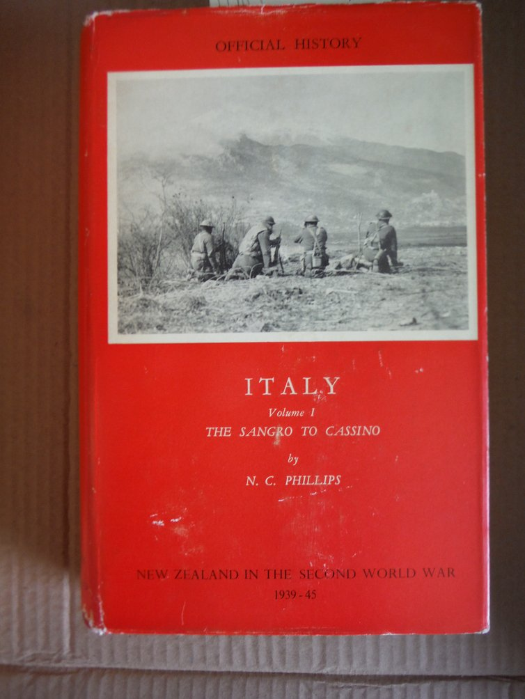New Zealand in the Second World War, 1939-45: Italy Volume I: The Sangro To Cass