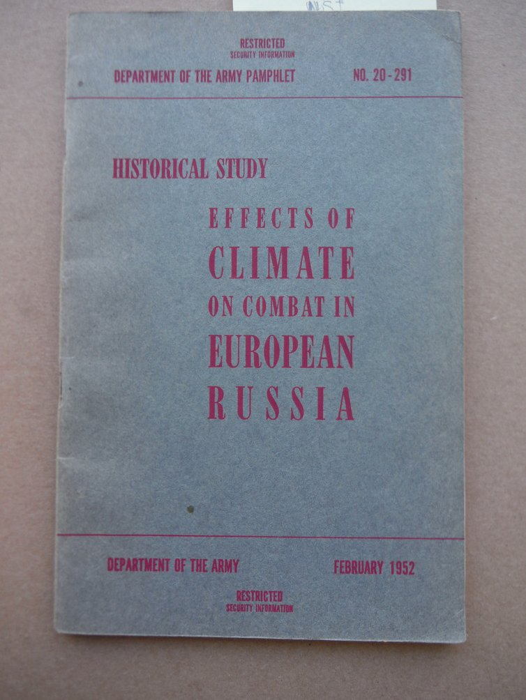 Image 0 of Historical Study: Effects of Climate on Combat in European Russia