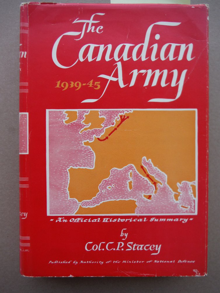 Image 0 of THE CANADIAN ARMY 1939-45