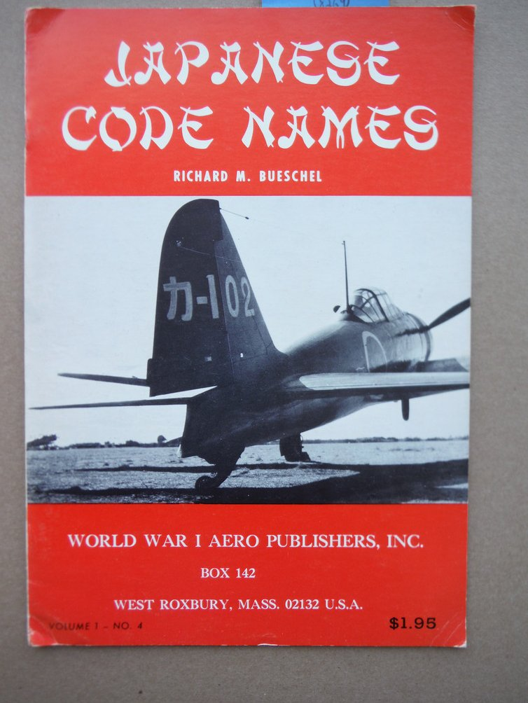 Japanese Code Names (Allied Code Names for Japenese aircraft in WWII)