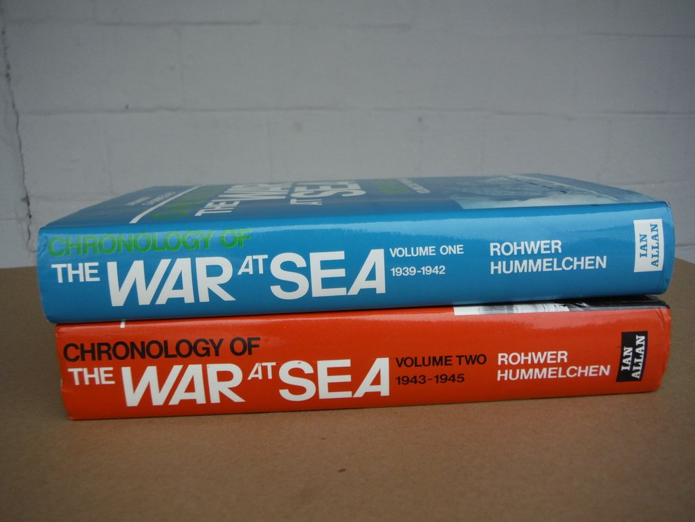 Chronology of the War at Sea 1939-1945 (2 Vols)