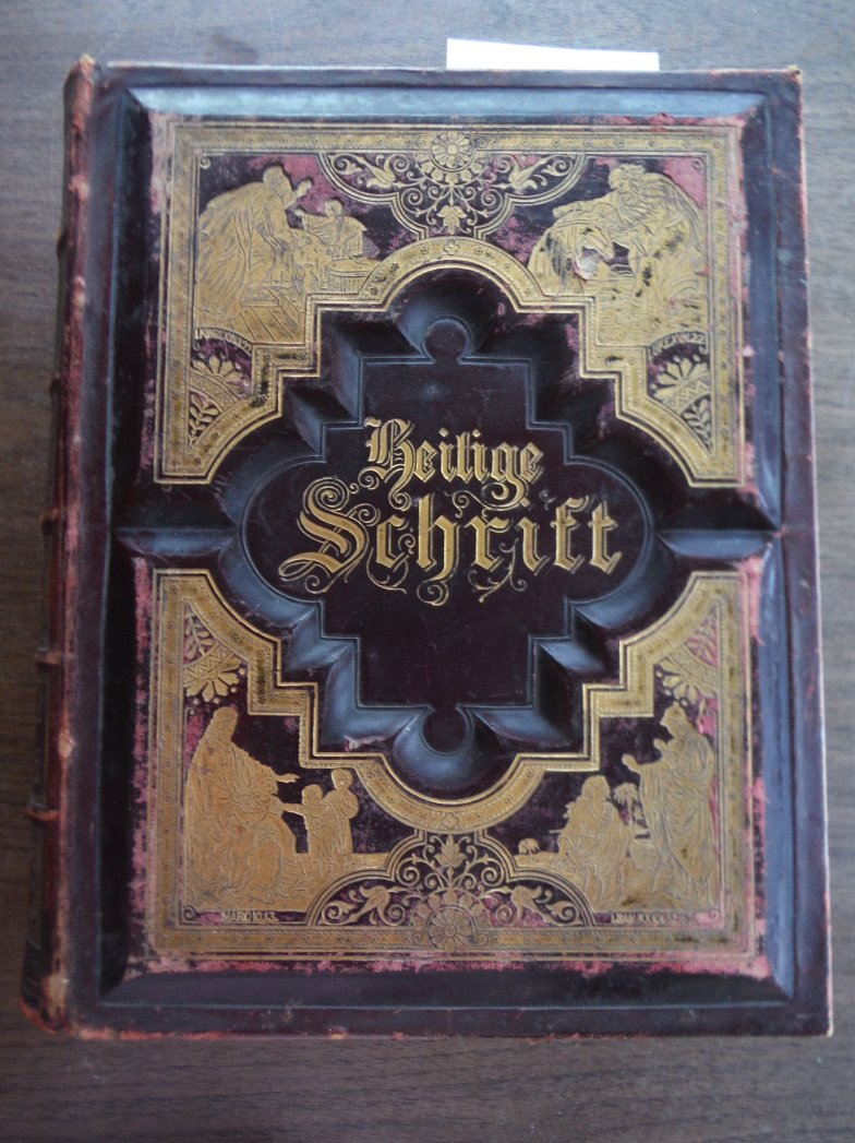 Die illustrirte familien-Bibel fur hausliche Erbauung und Belehrung : Enthaltend