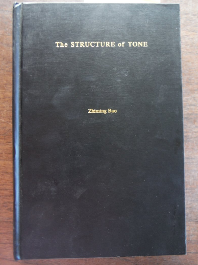 The Structure of Tone
