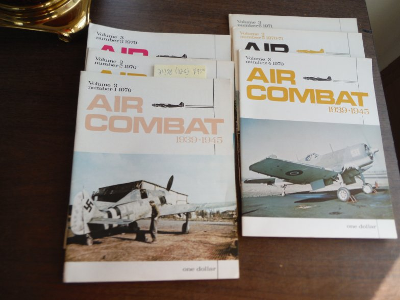 Air Combat 1939 - 1945 Volume 3 (Nos. 1 thru 6) 1970