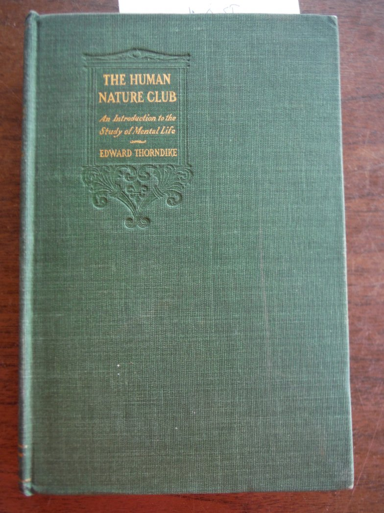 The Human Nature Club An Introduction to the Study of Mental Life