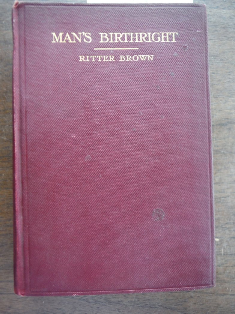 MAN'S BIRTHRIGHT [1911]