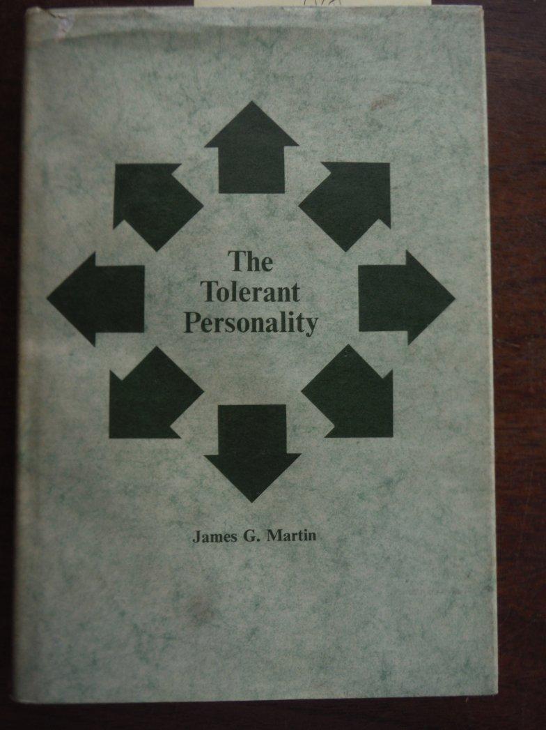 The tolerant personality (Wayne State University studies, no. 15. Sociology)