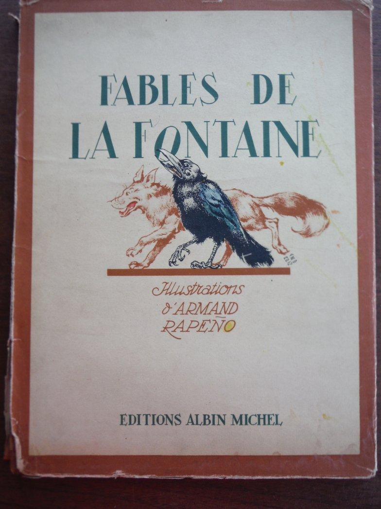 Fables de La Fontaine: Illustrations d'Armande Rapeno