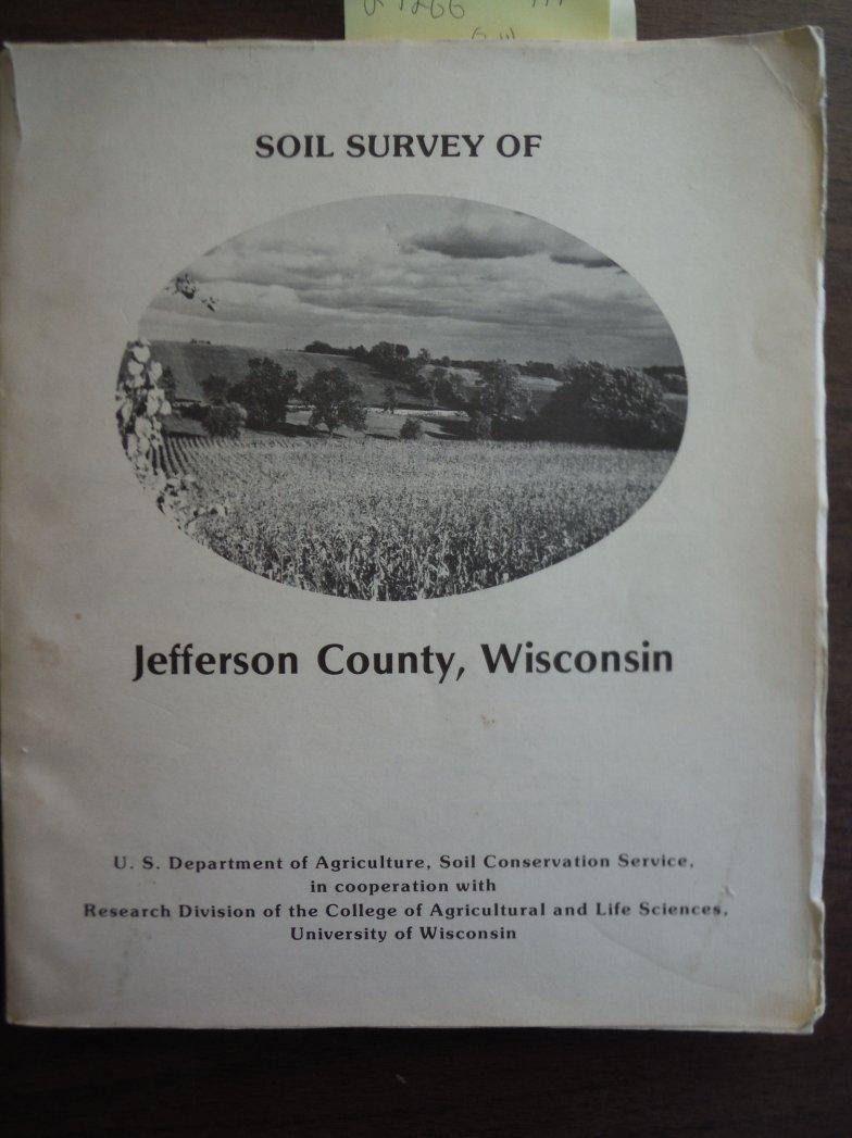 Soil Survey of Jefferson County, Wisconsin