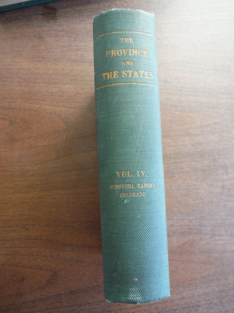 The Province and the States A  History of the Province of Louisiana under France