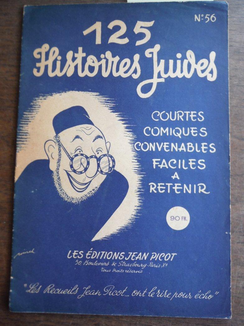 125 istoires Juives Courtes, Comiques, Convenables Faciles a Retenir