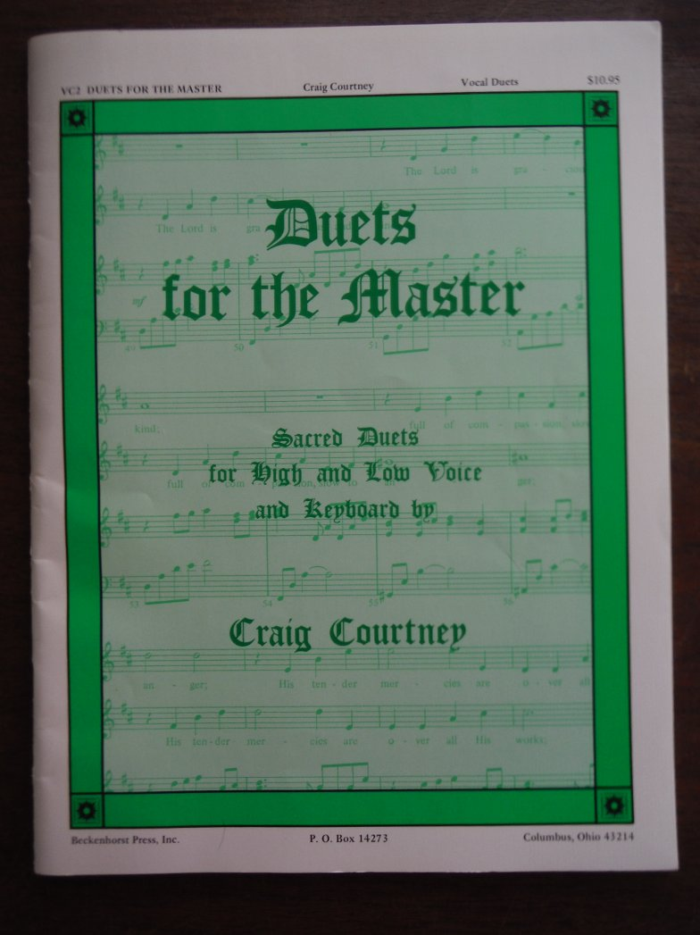 Duets for the Master: Sacred Duets for High and Low Voice and Keyboard