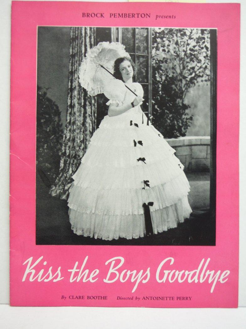 Kiss the Boys Goodbye (Souvenir Program 1940)