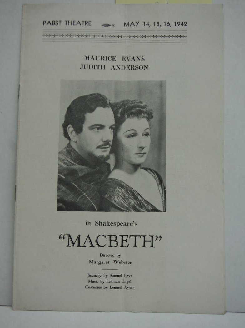 Macbeth (Souvenir Program 1942)