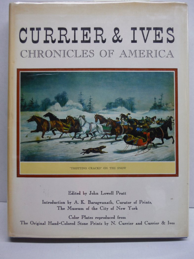 Currier & Ives chronicles of America: Color plates reproduced from the original