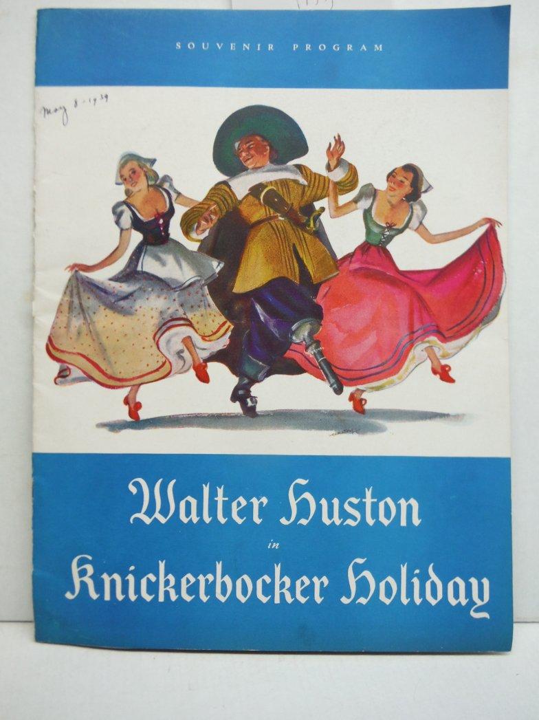 Knickerbocker Holiday Souvenir Program - The Playwrights' Company 1939.