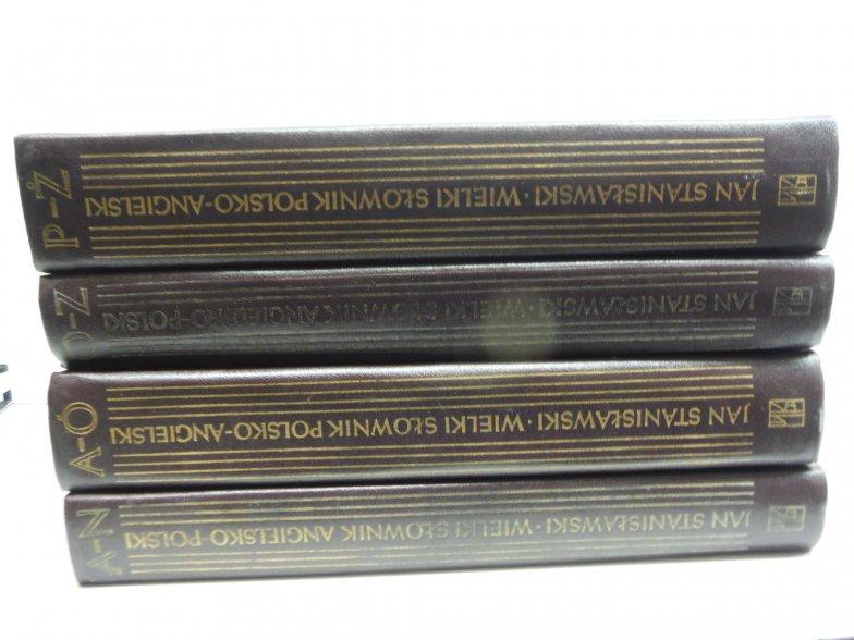 The Great Polish-English Dictionary (4 Vol Set)
