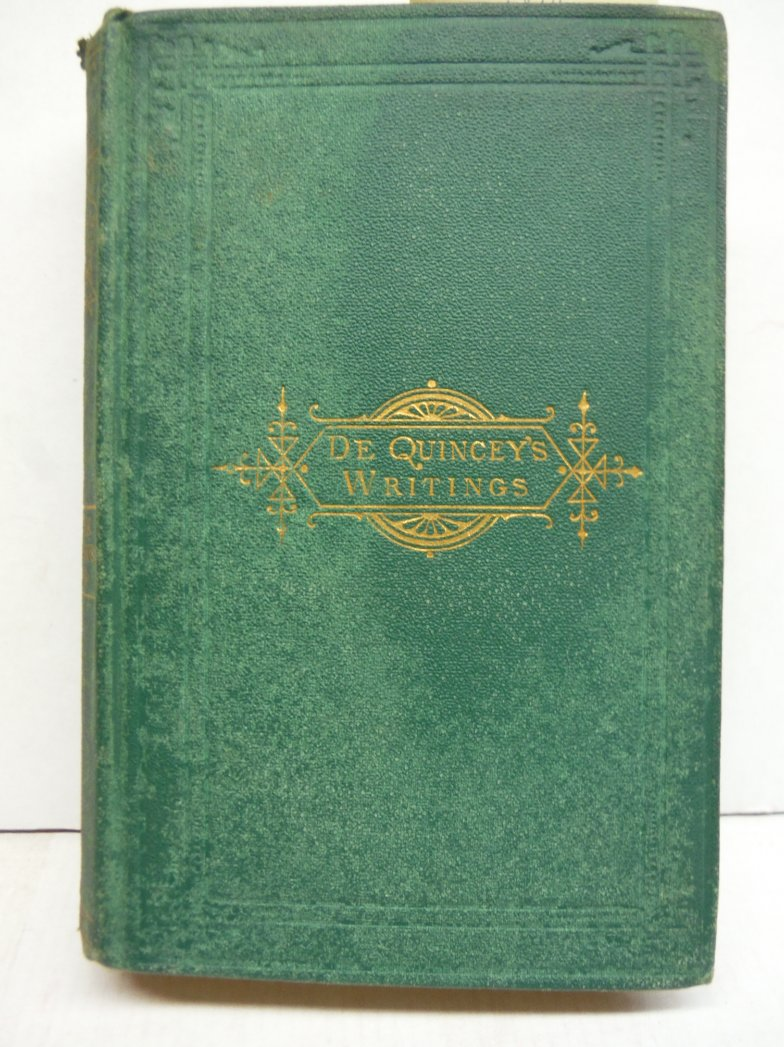 The Note-Book of an English Opium-Eater and Miscellaneous Essays