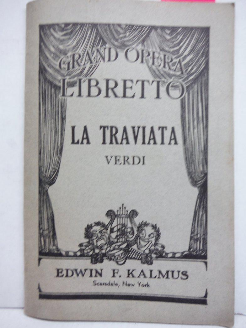 La Traviata: Italian text with English translation