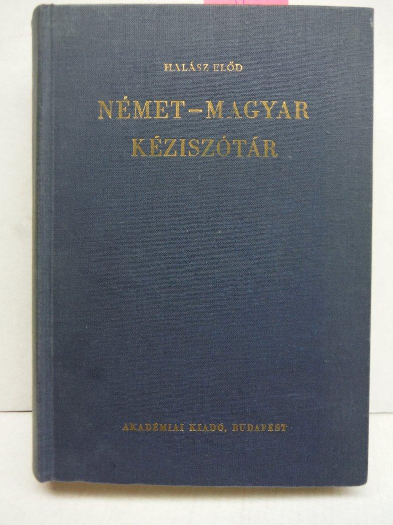 Deutsch-Ungarisches Handworterbuch Elfte Ausgabe