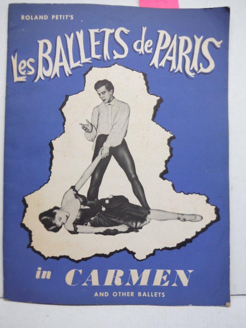 Les Ballets de Paris, Roland Petits Carmen and Other ballets