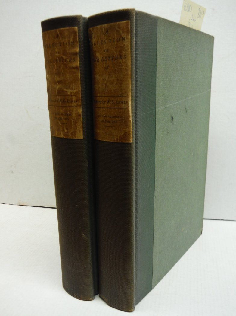 A Selection of the Letters of Horace Walpole (two volume set)