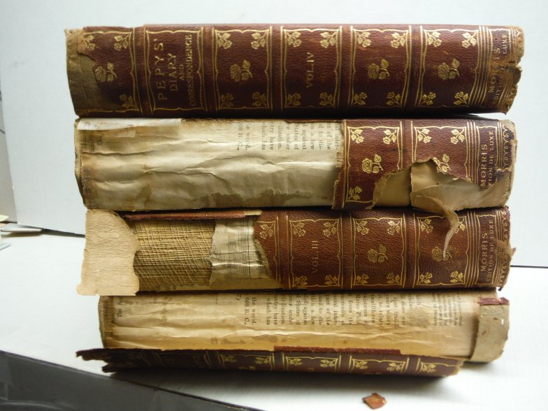 Diary and correspondence of Samuel Pepys, F.R.S. [4 volumes]