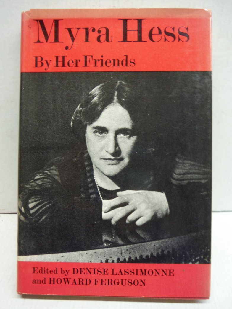 1966 MYRA HESS PIANO PRODIGY MUSIC BIOGRAPHY BY HER FRIENDS UK ILLUSTRATED DJ