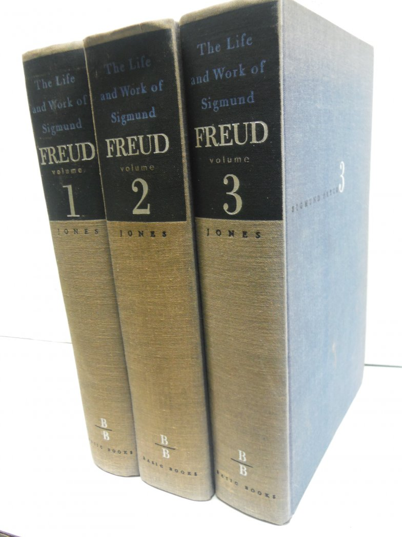 The Life and Work of Sigmund Freud [Volumes 1-3]