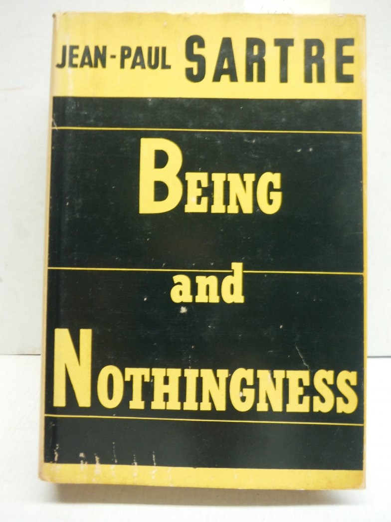 Being and Nothingness an Essay on Phenomonological Ontology
