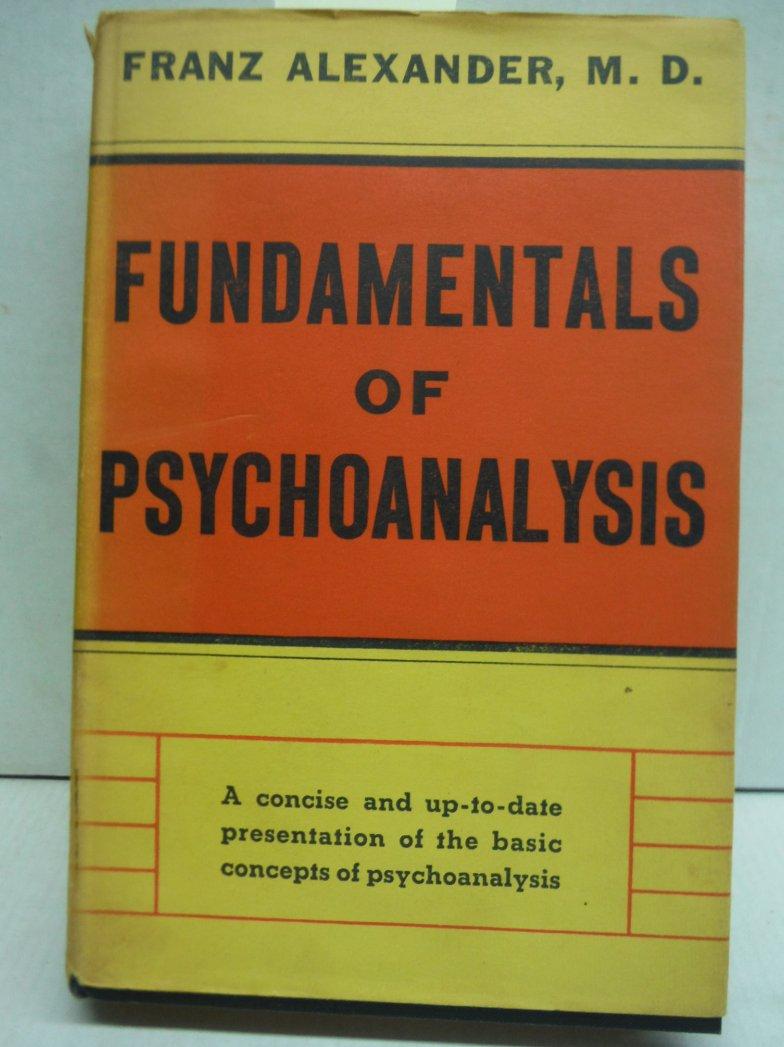 Fundamentals of psychoanalysis