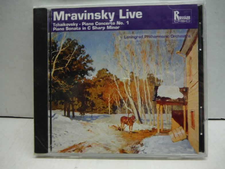 Mravinsky Live! - Tchaikovsky: Piano Concerto No. 1, for piano & orchestra in B
