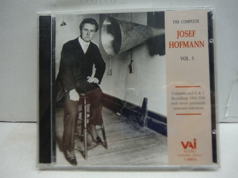 The Complete Josef Hofmann, Vol. 3 (Columbia and G&T Recordings 1903-1918 with S