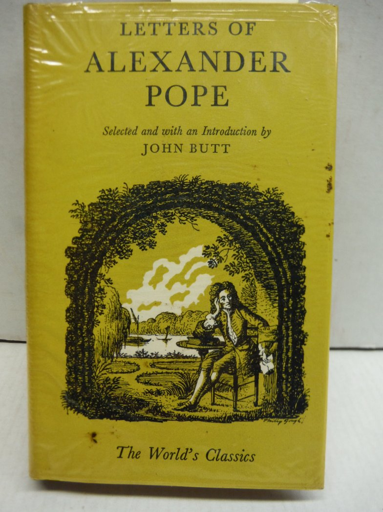 Letters of Alexander Pope
