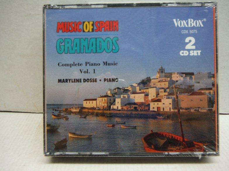 Enrique Granados: Complete Piano Music, Vol. 1 (Music of Spain)