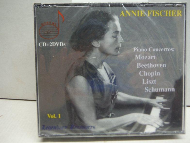 Annie Fischer - Legendary Treasures, Vol. 1 (w/ 2 DVD)